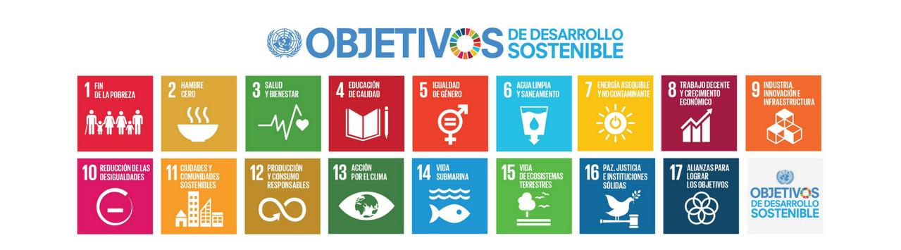 ODS - Objetivos de desarrollo sostenible - Agenda 2030